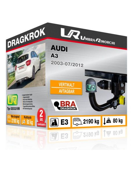 Dragkrok Audi A3 fast [1]
