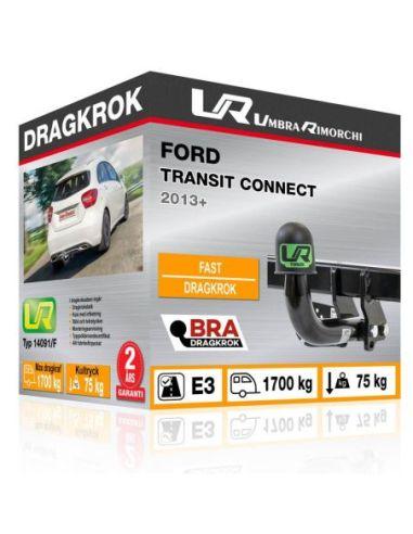Dragkrok Ford MONDEO WAGON med horisontellt avtagbar kula
