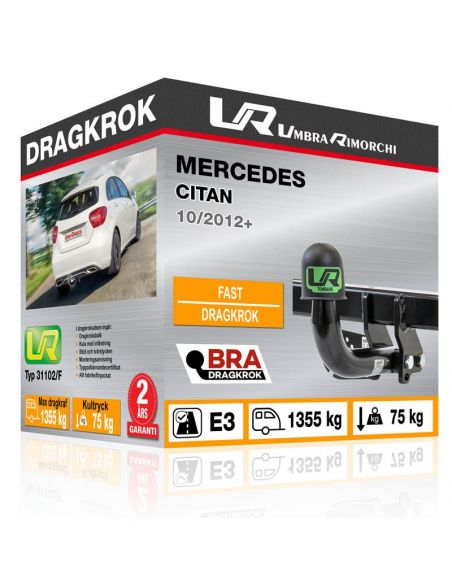 Dragkrok Mercedes A CLASS fast [1]