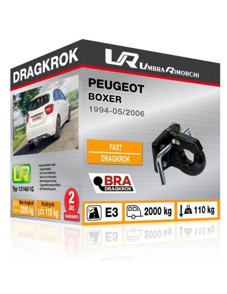 Dragkrok Peugeot 3008 fast