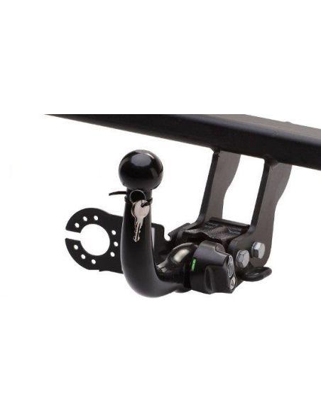 Dragkrok Ford FOCUS med horisontellt avtagbar kula + 7-polig elsats med PDC-modul